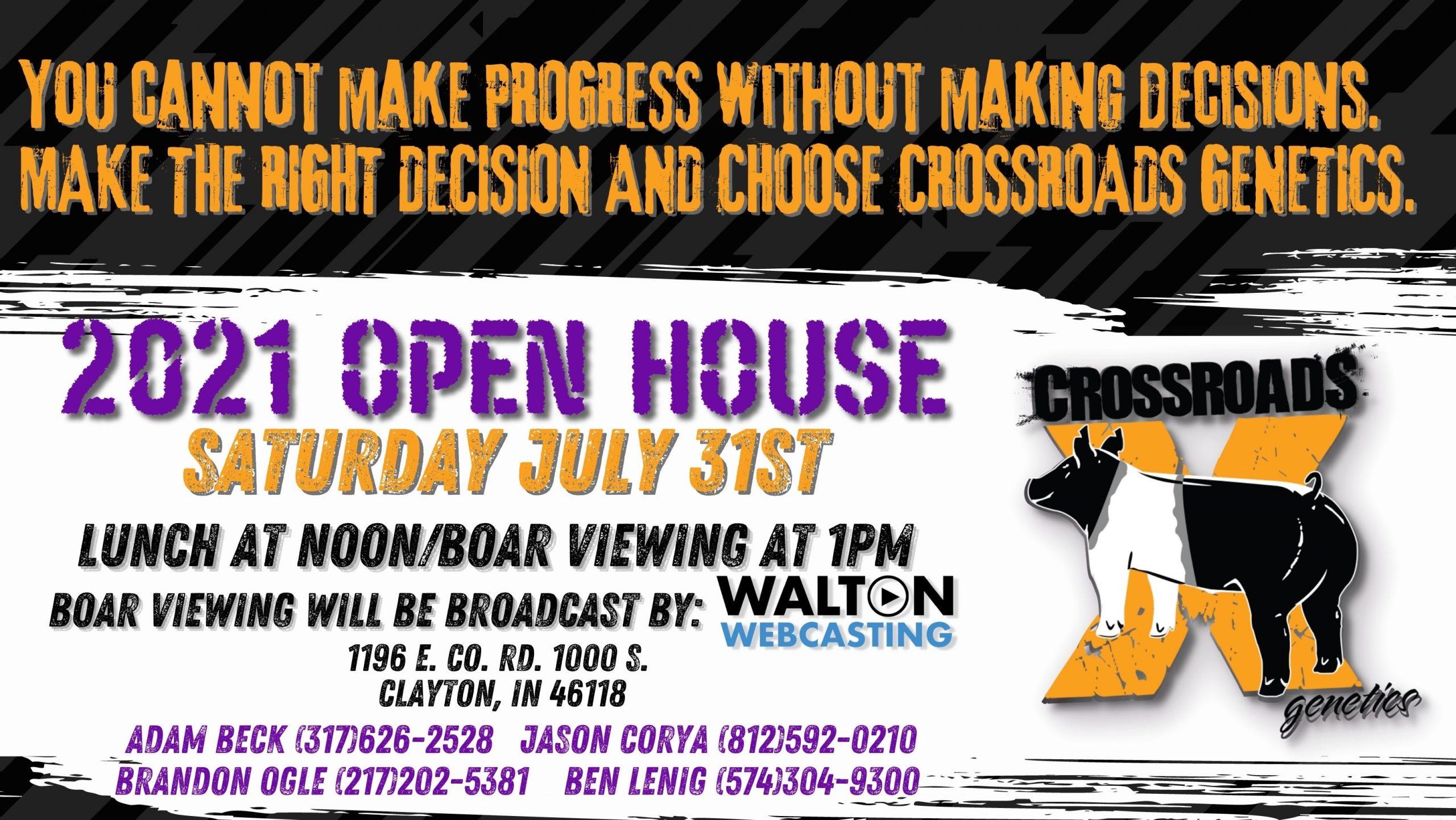 Crossroads Open House